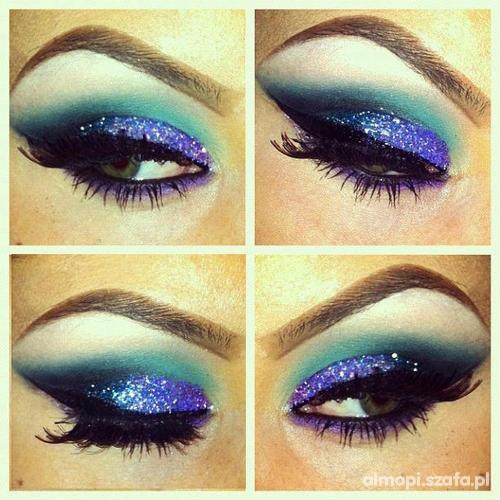 Karnawałowy makijaż...