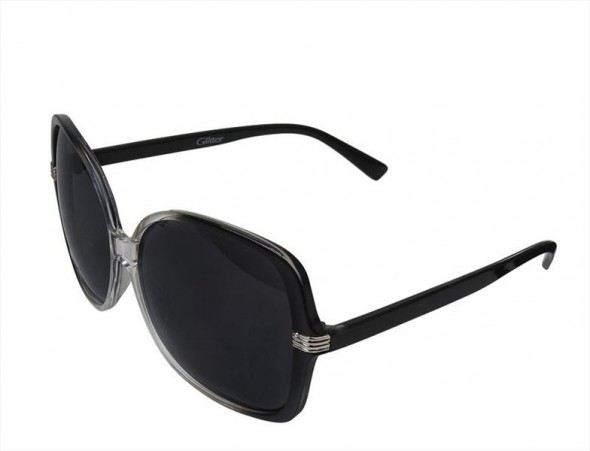 Duże okulary przeciwsłoneczne...