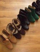 Moje buty na zime...