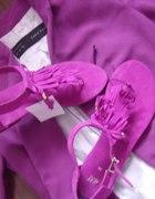 Sandałki H&M frędzle...