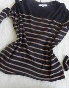 sweterek oversize z łatami