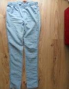 Spodnie tregginsy jasne 38 mega