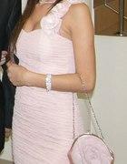 Pudrowa sukienka Tally Weijl