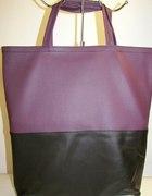 torba shopper bag dwa kolory