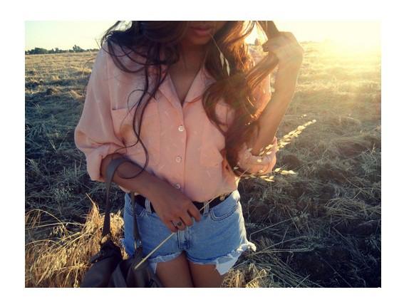 Koszule koszula mgiełka malinowo brzoskwiniowa oversize