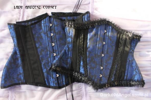 mój wymarzony blue queen corsets