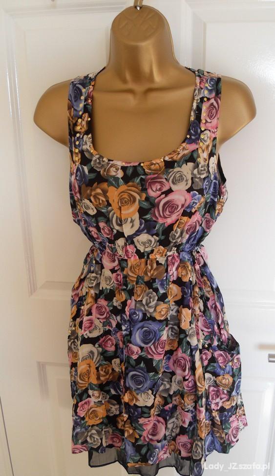 Sukienka Asos róże