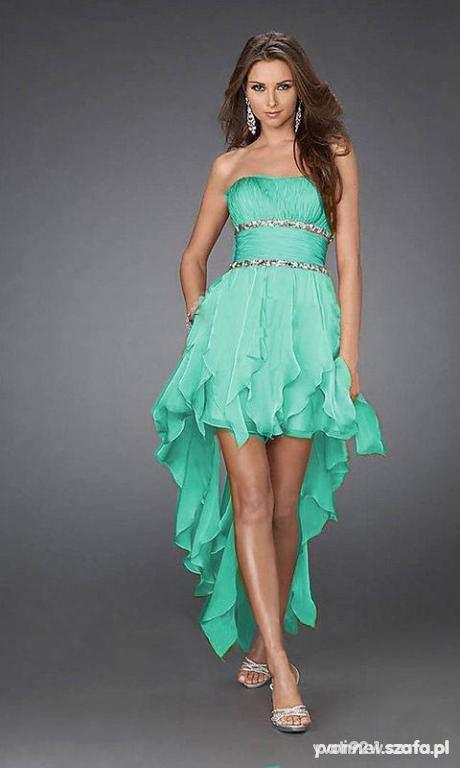 e3c293e0f8 MEGA HIT PIEKNA MIETOWA SUKIENKA ASYMETRYCZNA S w Suknie i sukienki ...
