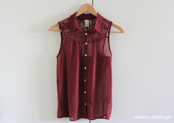 Ubrania Koszula mgiełka koronka