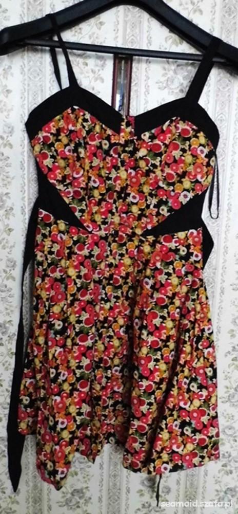Suknie i sukienki sukienka w kwiatki Atmosphere