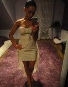 ecri sukienka cudna asymetryczna 34 36 xs s