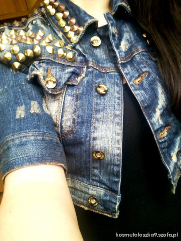 Mój styl jeansowo ćwiekowo