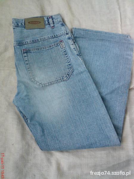 Spodnie MĘSKIE TANIE DŻINSY