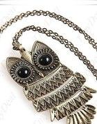 Naszyjnik Wisior JAPAN Style SOWA OWL WYPRZEDAŻ