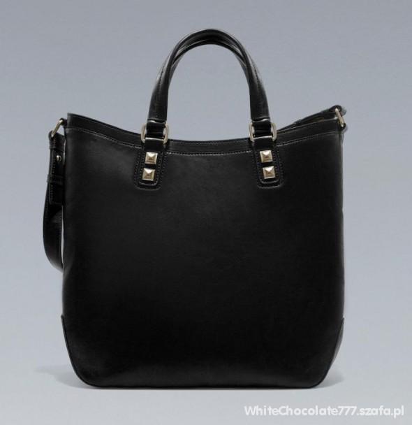 ZARA torebka czarna