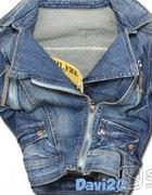 kurteczka jeansowa roz XS S ramoneska