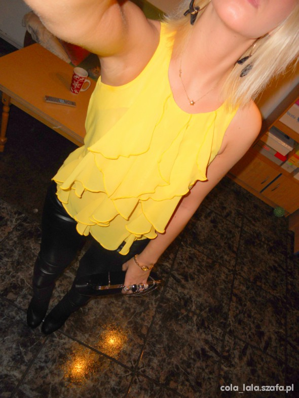 Imprezowe black & yellow