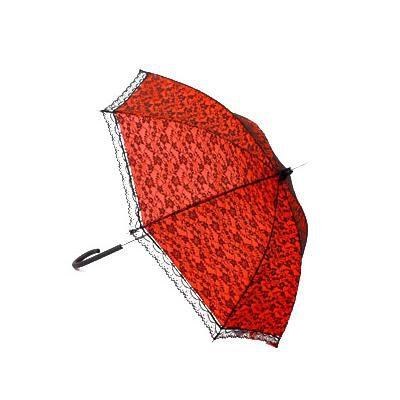 Pozostałe Koronkowa parasolka