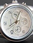 Zegarek GENEVA srebrny...