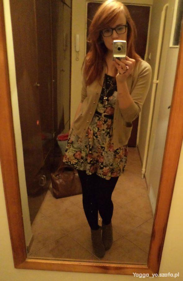 Romantyczne Dziewczęco kwiecista sukienka