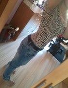 Zebra i baggy jeans