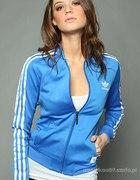 Bluza adidas niebieska M