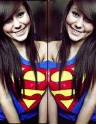 Koszulka Oversize Superman