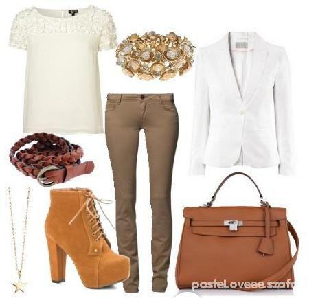 Eleganckie camel shoes