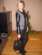 Lady in black...