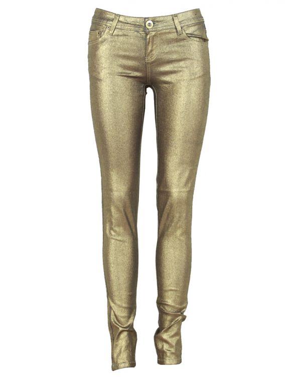 Złote metaliczne rurki zipy XS XXS