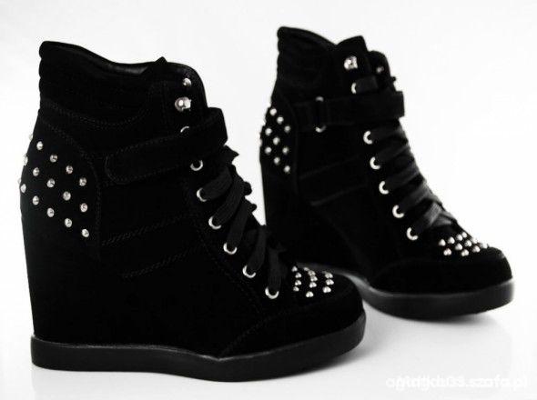 Koturny black sneakers