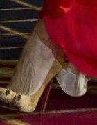 Louboutin lwie szpilki