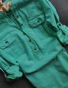 S M L XL 5 KOLORÓW wywijane rekawki koszule
