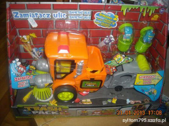 Zabawki auto zamiatacz z seri smieciaki
