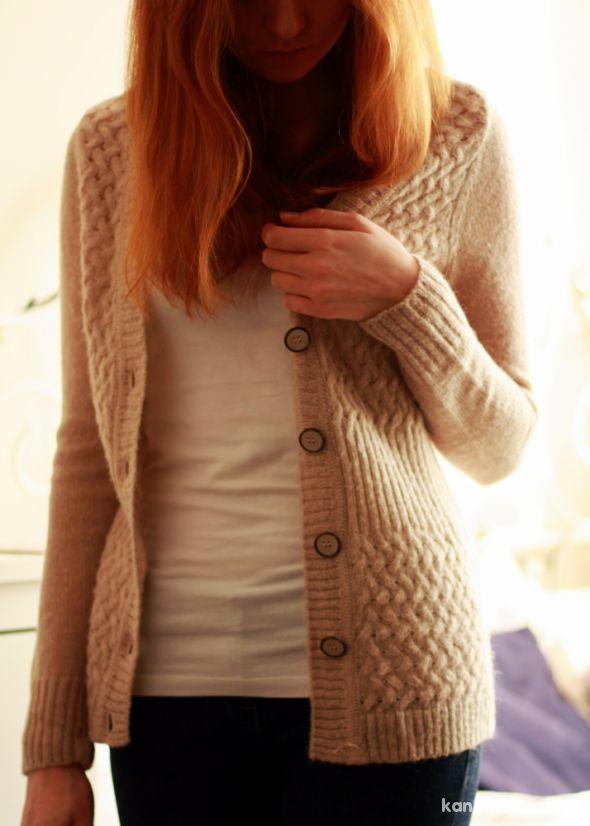 Sweter orsay S ażurowy