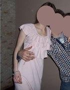 Codzienna sukienka z falbankami