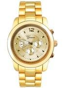 zegarek geneva prawie złoty...