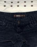 Jeansowe spodenki z ćwiekami DIYposzarpaneHOUSE