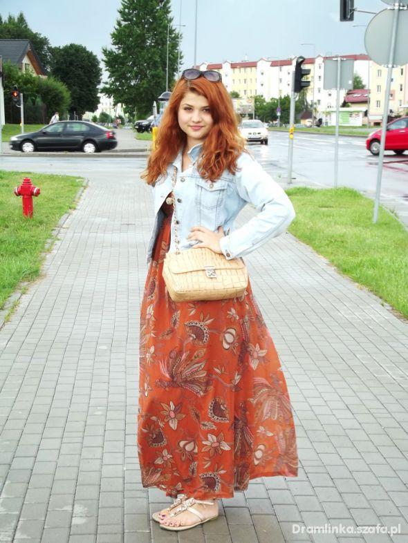 Mój styl Sukienka maxi H&M