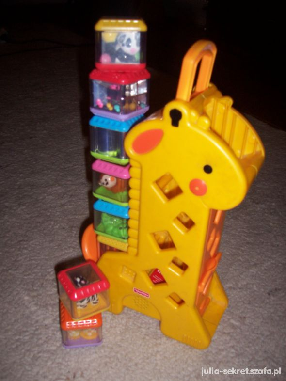 Zabawki Żyrafa Fisher Price