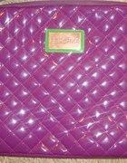 Bershka fioletowa pikowana chanelka