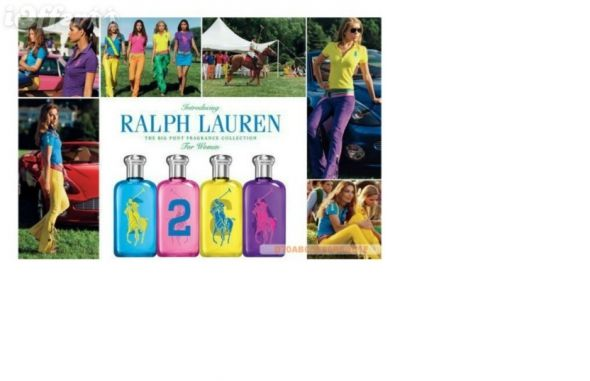 ubrania firmy Ralph Lauren...