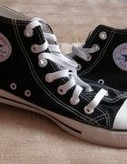trampki Converse czarne długie 38