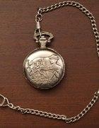 Zegarek na łańcuszku kieszonkowy stary antyk