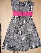 Tunika sukienka fishbone...