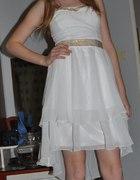 Biała sukienka z Tally Weijl...