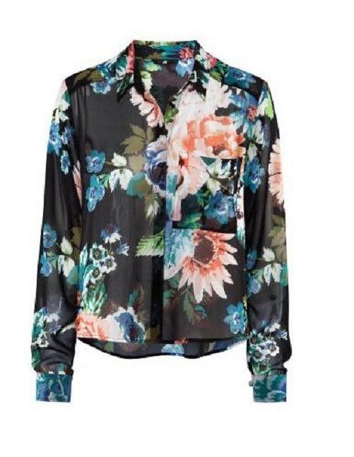 Koszula H&M kwiaty floral S M