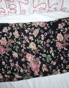 chustka apaszka kwiaty floral kolorowa róże
