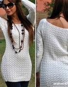 ażurkowy sweterek