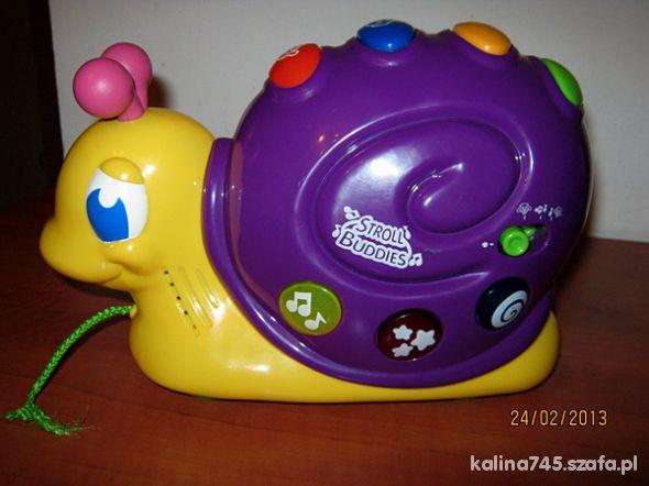 Zabawki Ślimak firmy Stroll Buddies